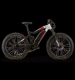 HAIBIKE Haibike XDURO FullFatSix 10.0 Black / Silver / Red Matte SM/42