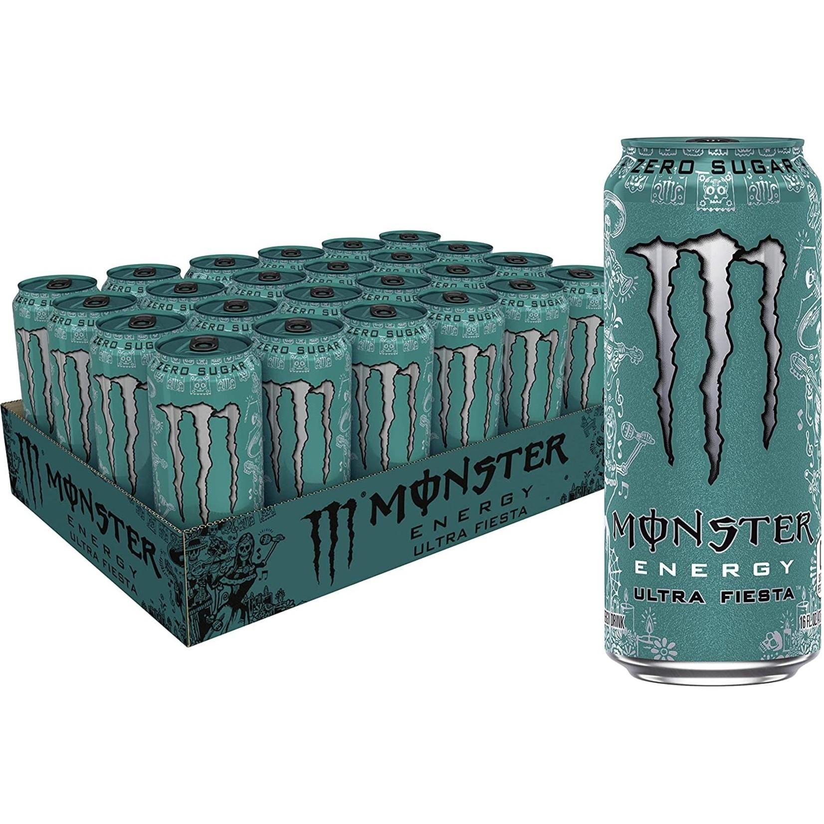 16 oz Monster Energy Ultra Fiesta