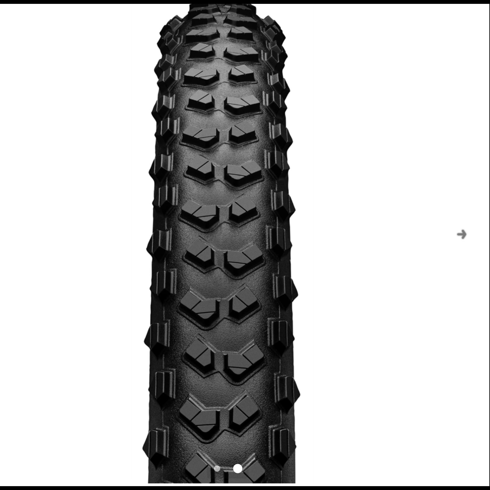 CONTINENTAL TIRES Continental XC/Enduro Tires Mountain King 27.5 x 2.6 Folding ProTection + Black Chili