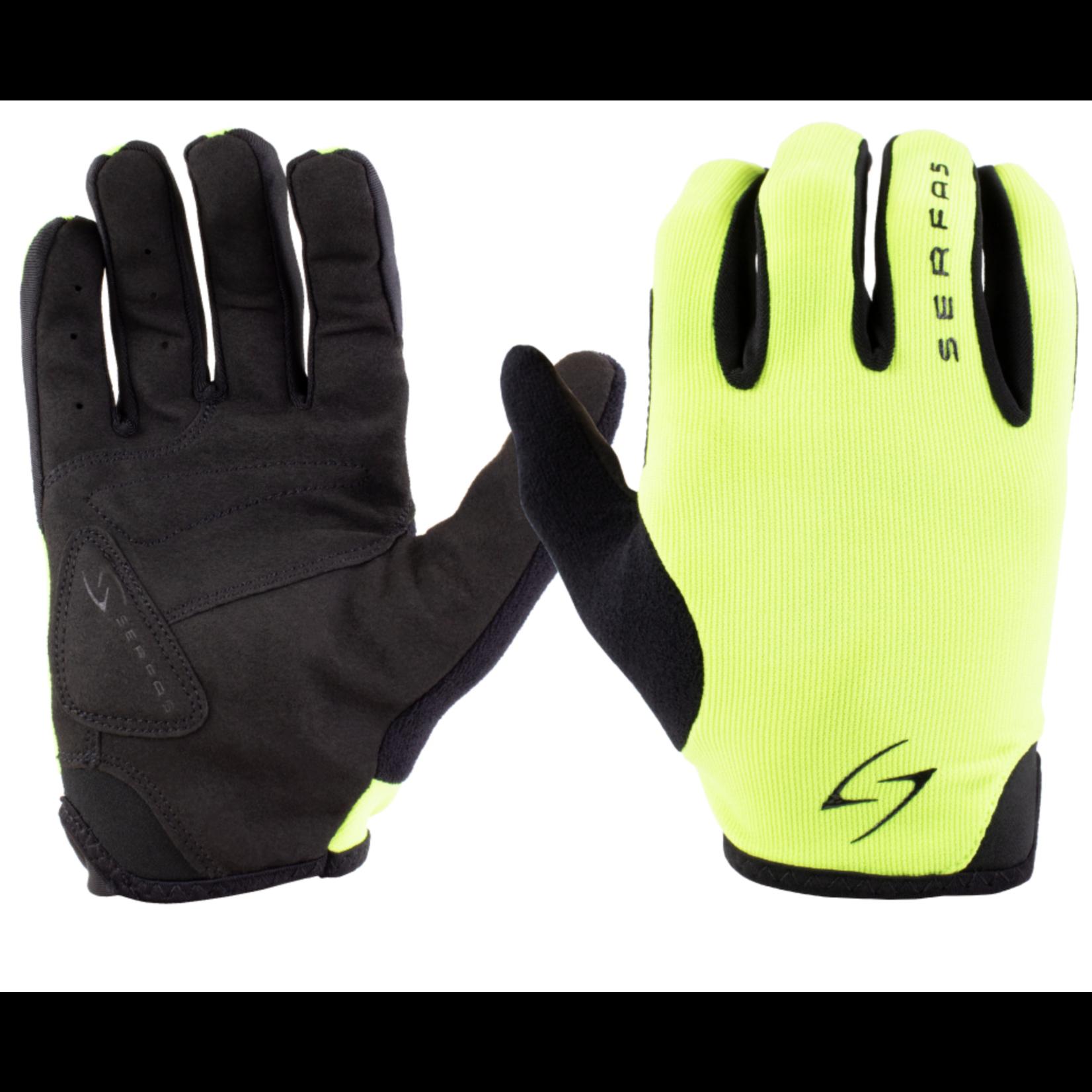 SERFAS SLM-HV  2.1 Starter Long Finger Gloves Green SM (SERFAS)