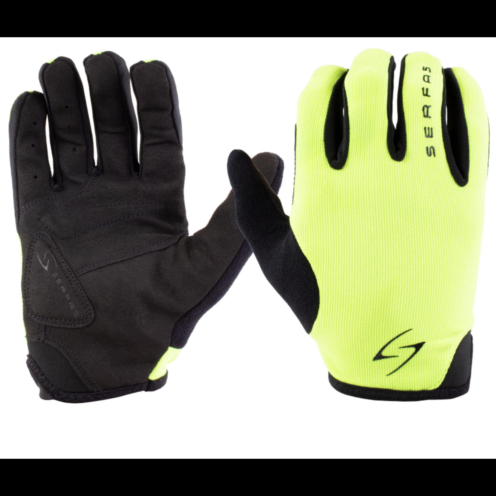 SERFAS SLM-HV 3.1 Starter Long Finger Gloves  Green MD (SERFAS)