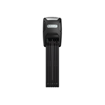 ABUS (Abus) Folding Locks - Bordo Alarm 6000/90 Plus Black