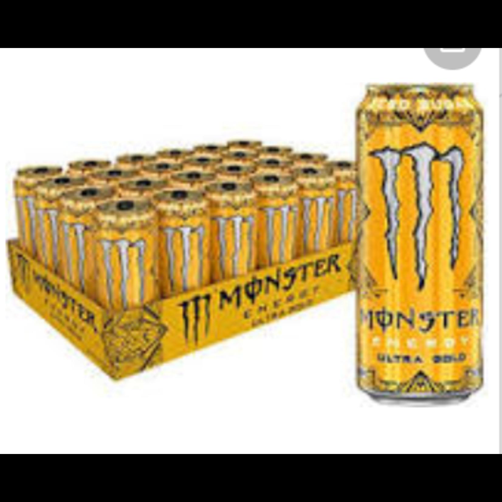 16 oz Monster Energy Ultra Gold