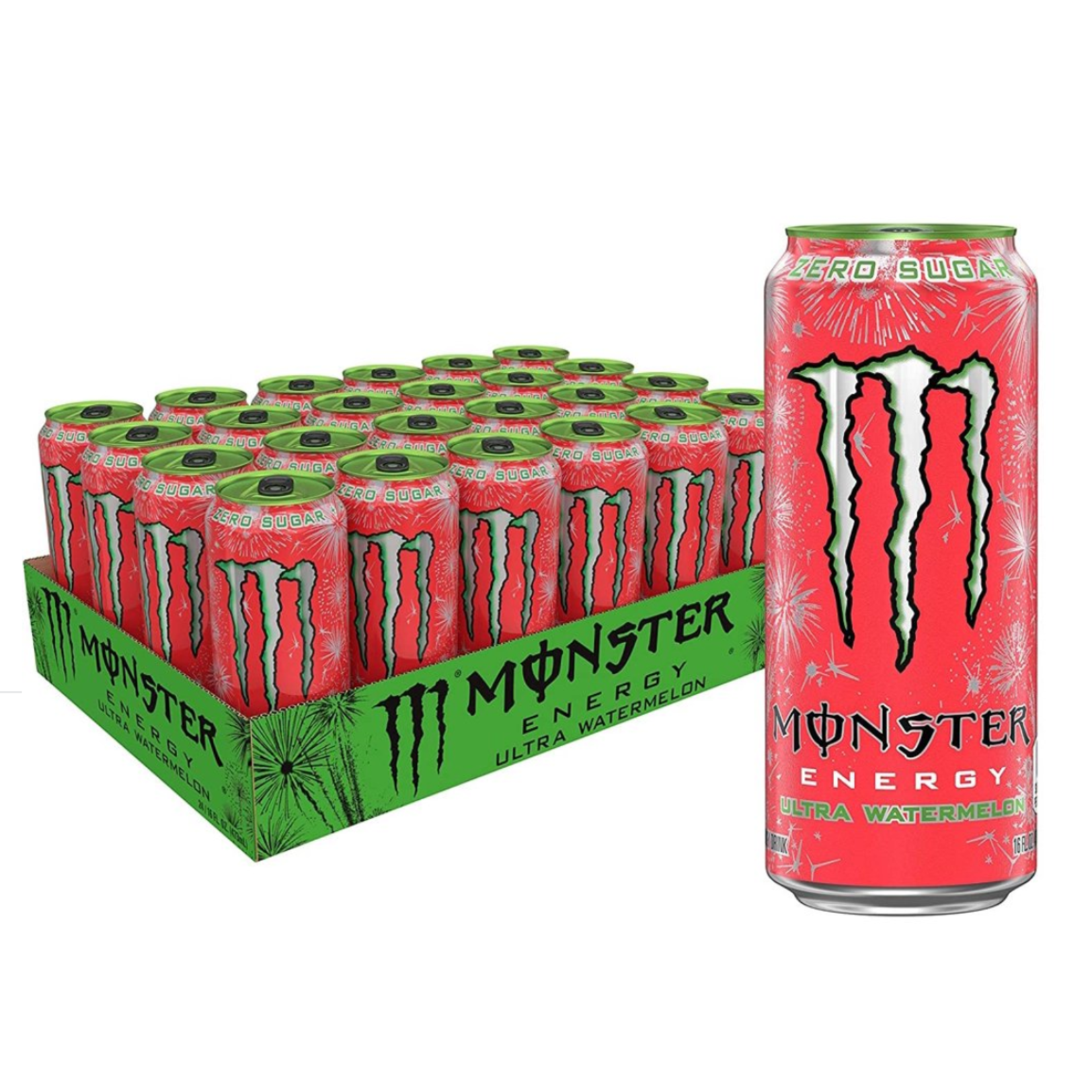 16oz Monster Energy Ultra Watermelon
