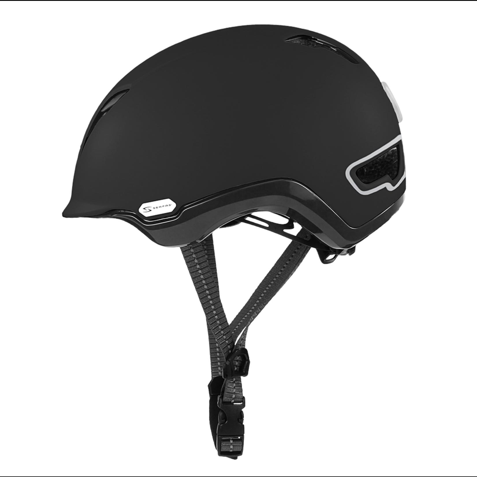SERFAS Helmet HT-500MTBK KILOWATT E-BIKE MATTE BLACK S/M (SERFAS)