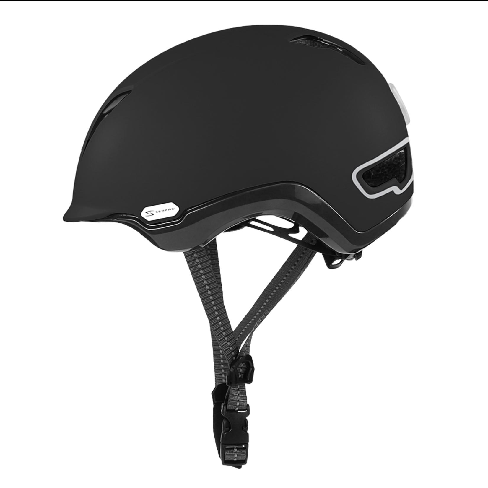 SERFAS Helmet HT-504MTBK KILOWATT E-BIKE MATTE BLACK L/XL (SERFAS)