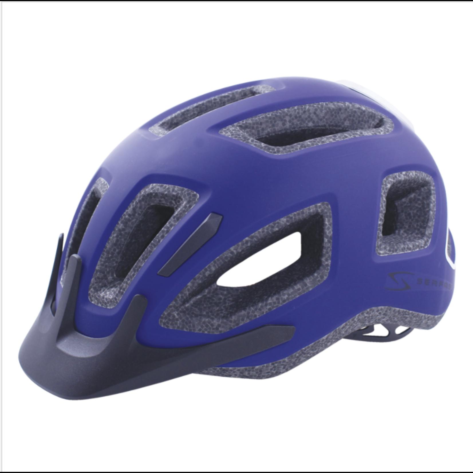 SERFAS Helmet HT- 404BLBK  Metro L/XL Blue (SERFAS)