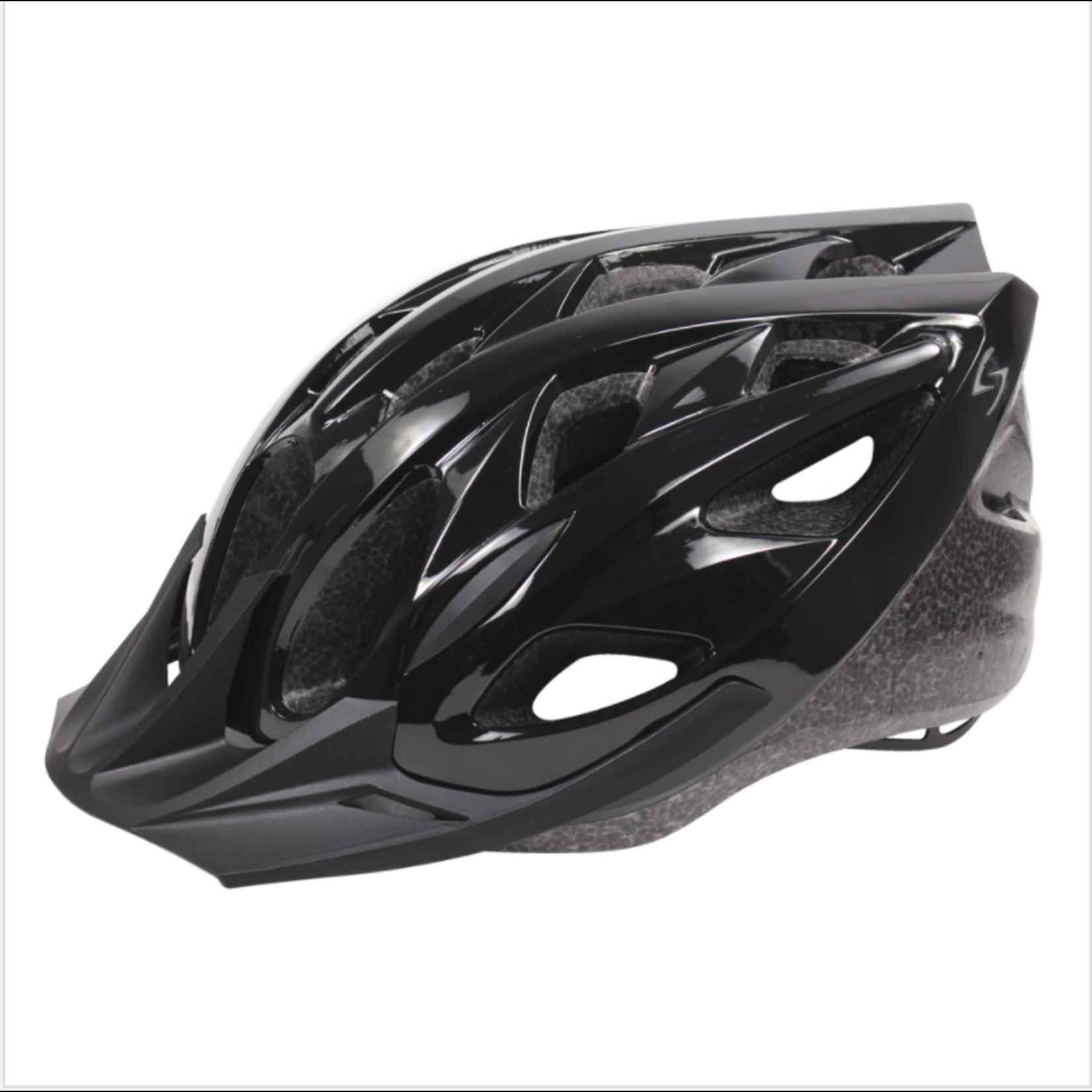 SERFAS Helmet HT-200BKBK Karv Gloss Black SM/MD (SERFAS)
