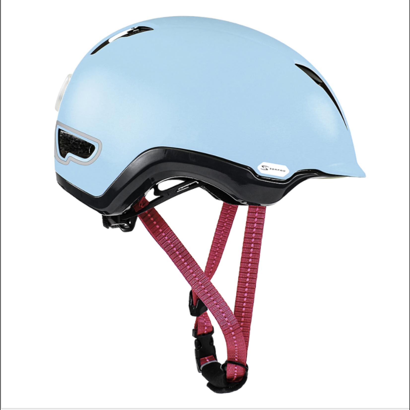 SERFAS Helmet HT-504MTBL Kilowatt E-Bike Matte Sky Blue L/XL (SERFAS)