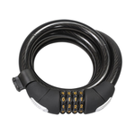 SERFAS CL-15 Combo Coiled Lock w/ Bracket (SERFAS)