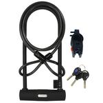 SERFAS UL-290C 290mm U-Lock W/ Cable & Bracket (SERFAS)