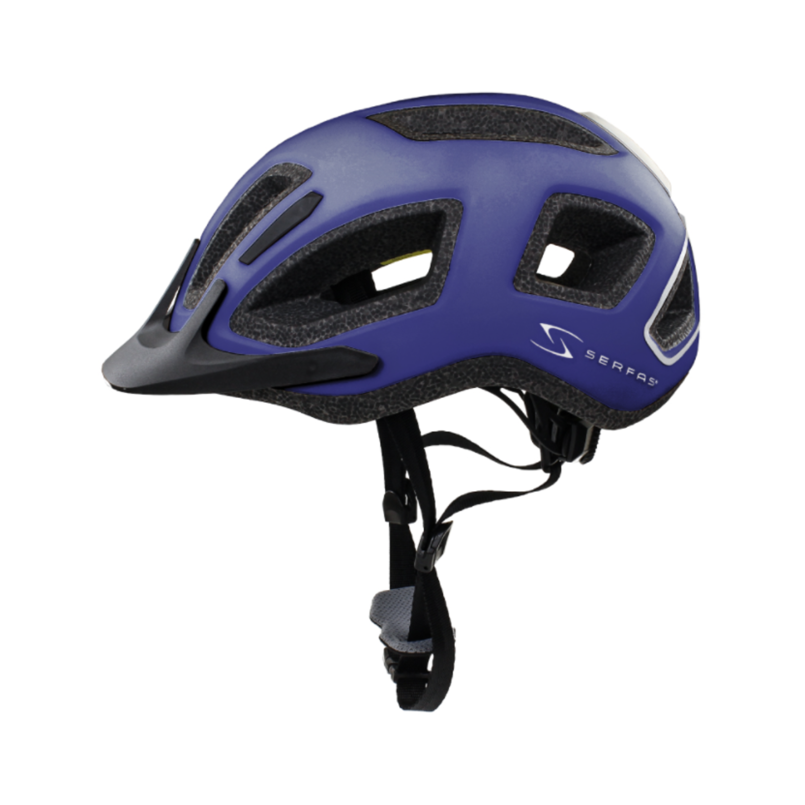 SERFAS Helmet HT-400BLBK Metro Matte Blue SM/MD