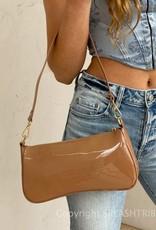 Billini Riana Shoulder Bag Toffee Patent