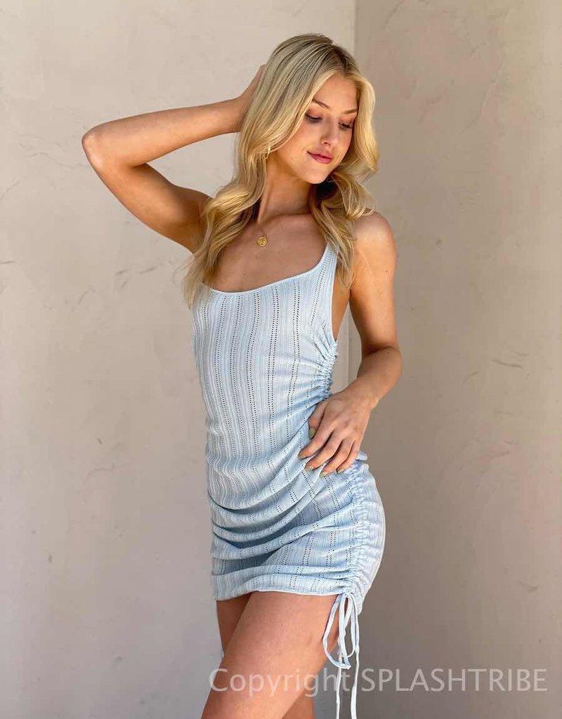 For Love & Lemons Pointelle Tank Dress