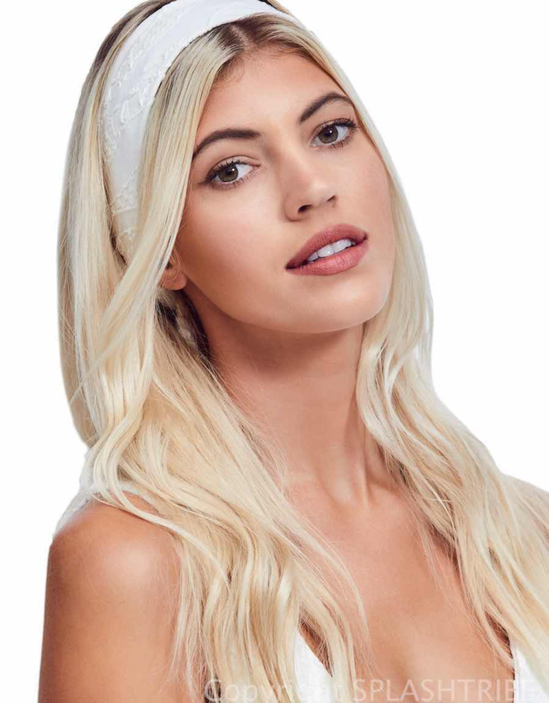 Devon Windsor Headscarf White Zebra