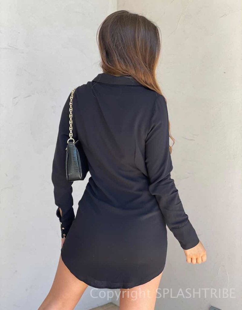 Rayon Ruby Shirt Dress