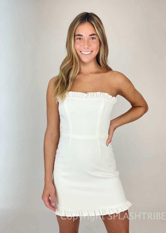 Whisper Ruth Frill Dress