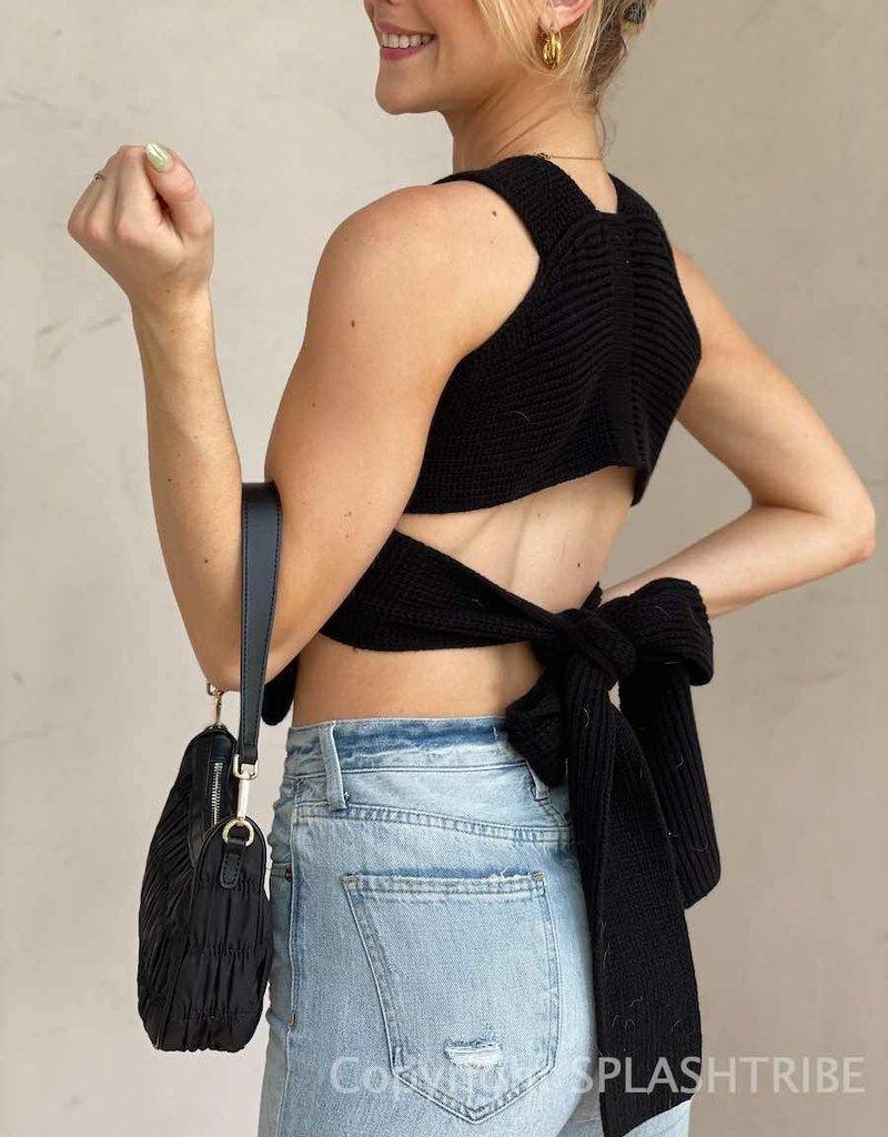 Miami Nights Knit DIY Crop Top