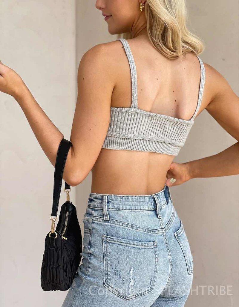 Knit Contour Bralette