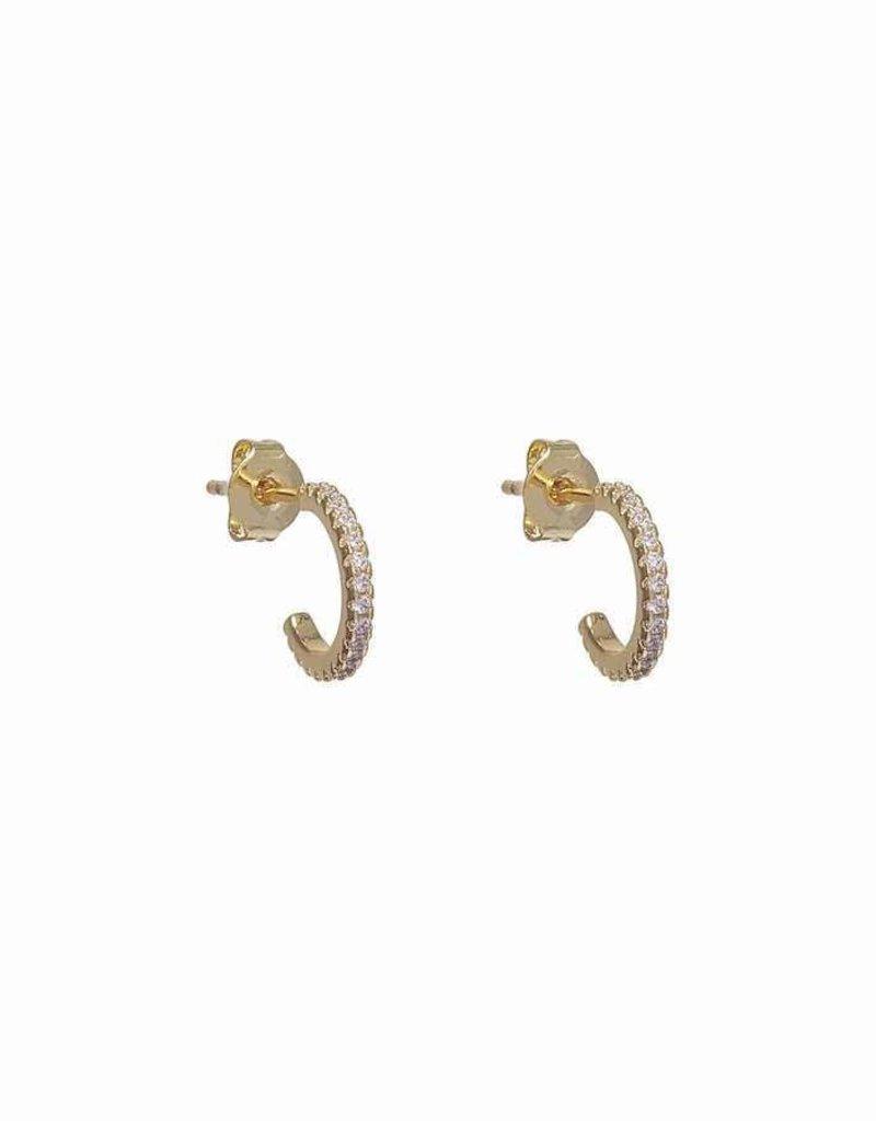 Simple Stack Huggies Earrings