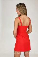 Whisper Straight Neck Dress