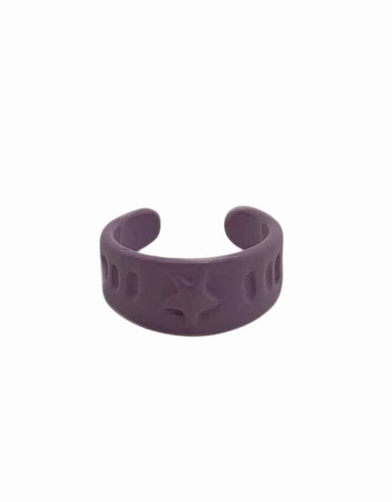 Purple Star Ring