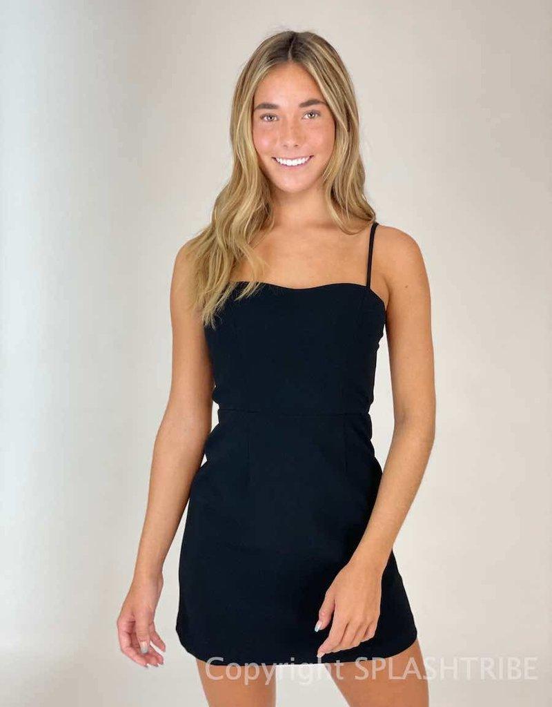 Summer Whisper Tie Back Dress
