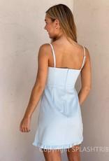 Whisper Frill Sweetheart Dress