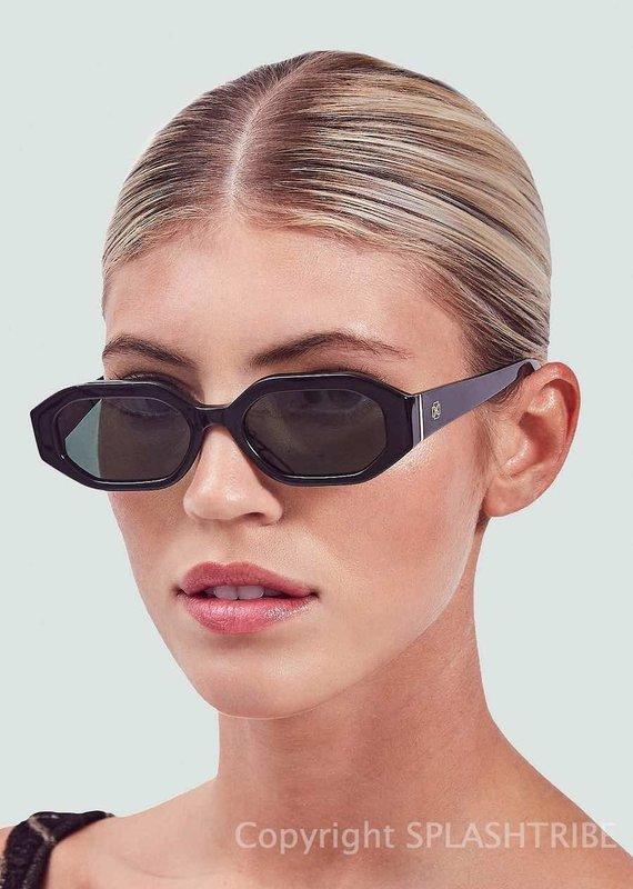 Devon Windsor Rome Sunglasses Black