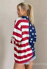 Show Me Your Mumu Benny Half Zip Sweatshirt