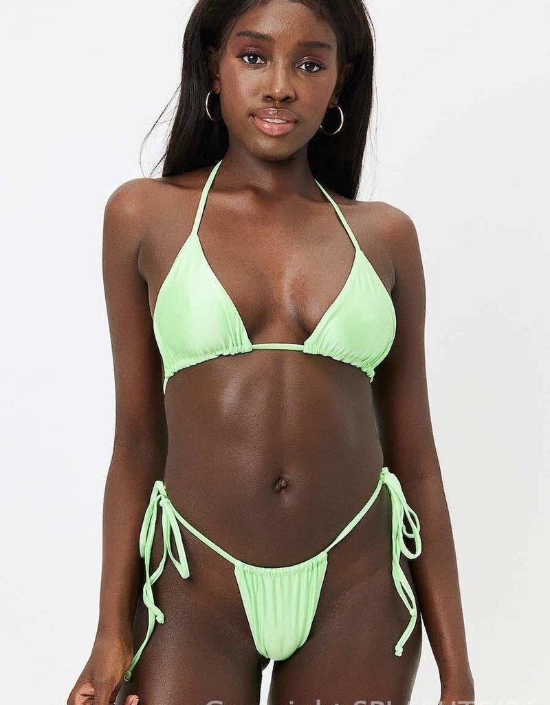 Frankies Bikinis Tia Satin Top