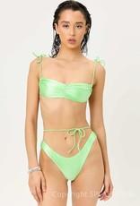 Frankies Bikinis Foxy Satin Top