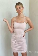 Bella Ruched Mini Dress