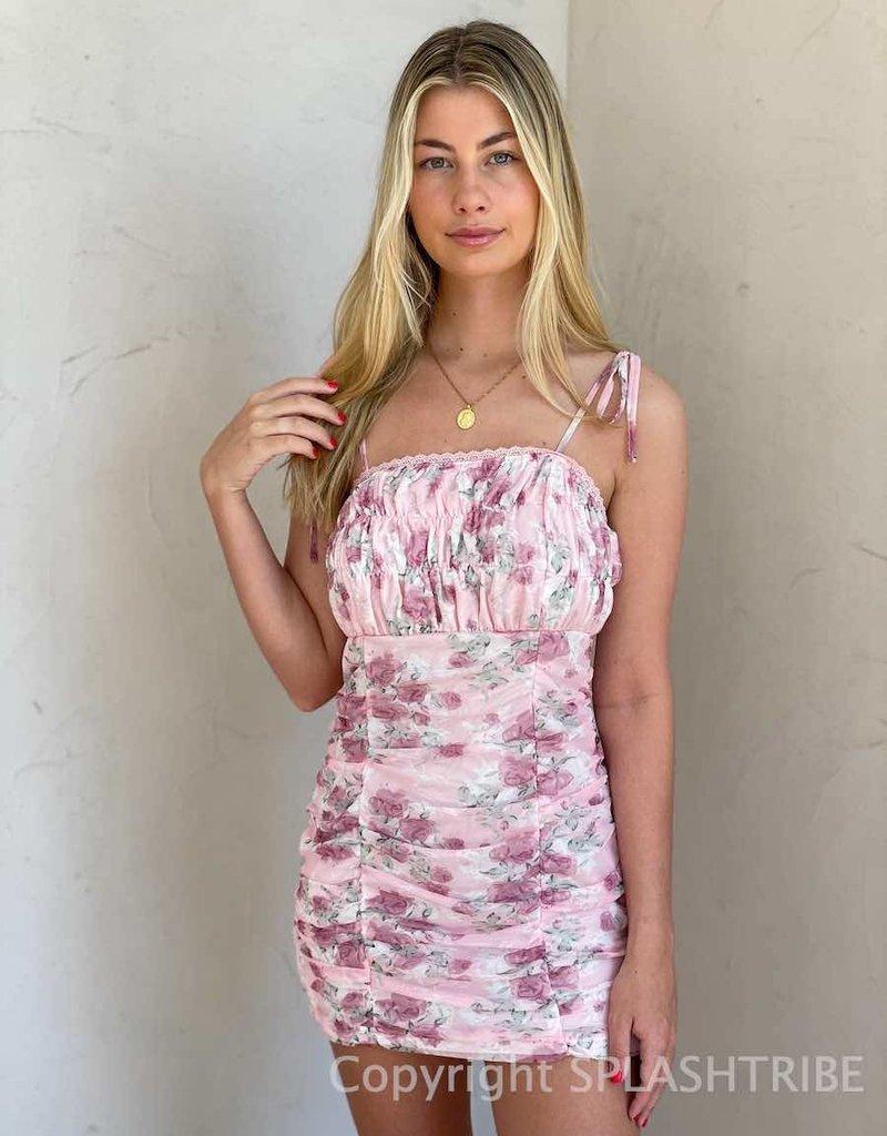 Final Rose Mini Dress