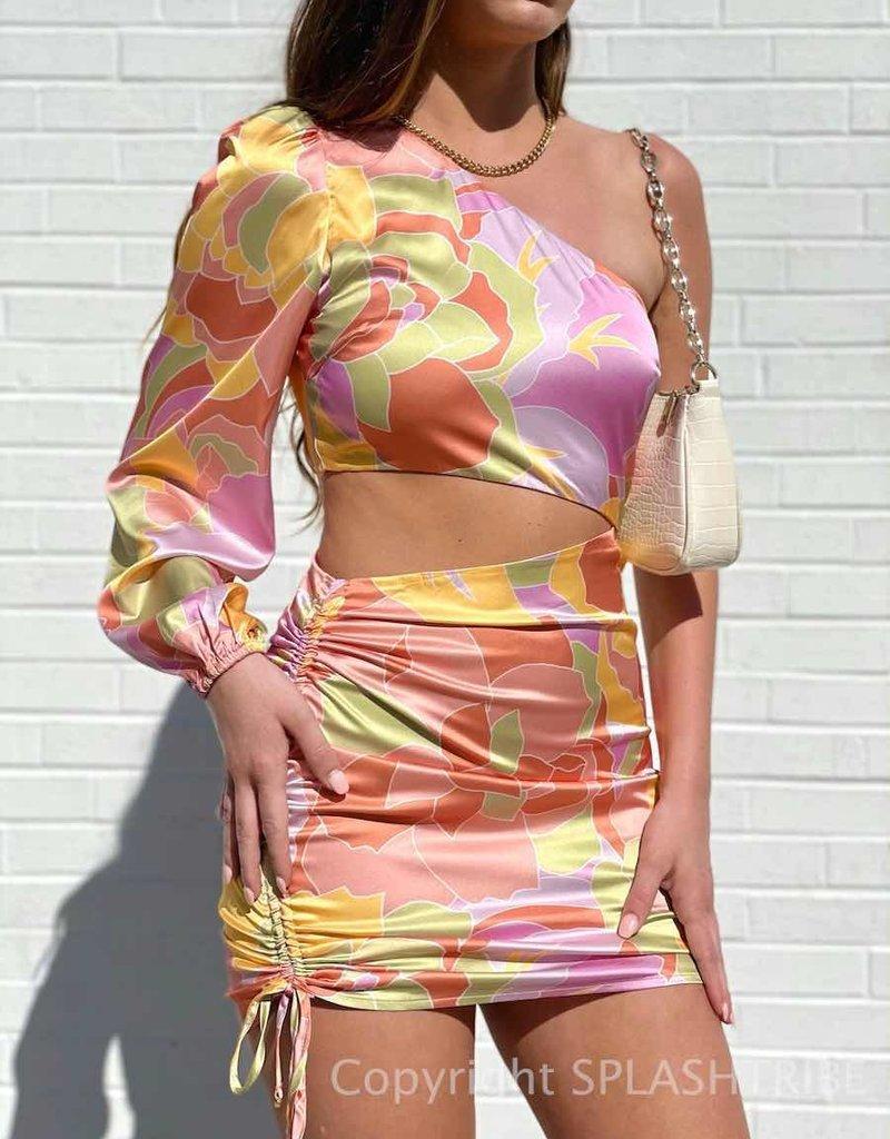 Mindy Draped Dress - P-156063