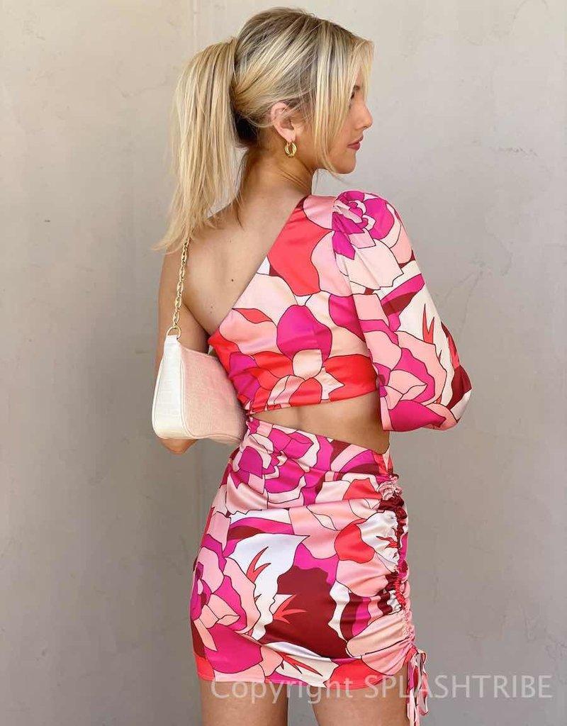 Mindy Draped Dress - P-156064