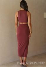 Dominica Midi Skirt