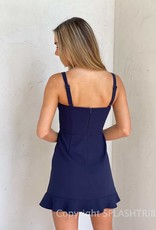 Whisper Ruffle Hem Dress - P-138350