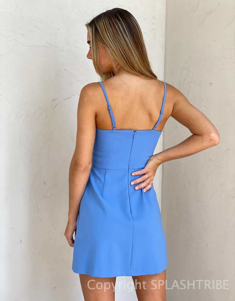 Whisper V Neck Dress w/ Envelope - P-138345