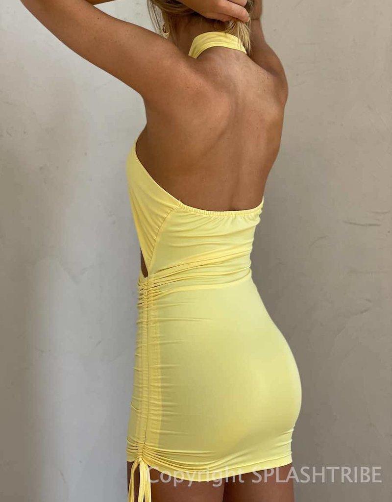 Gimme More Halter Mini Dress