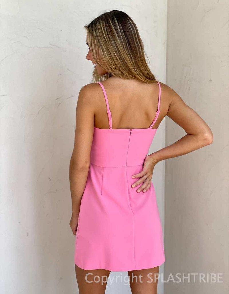 Whisper V Neck Dress w/ Envelope - P-138347