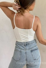 Which Way Ribbed Crop Tank Top
