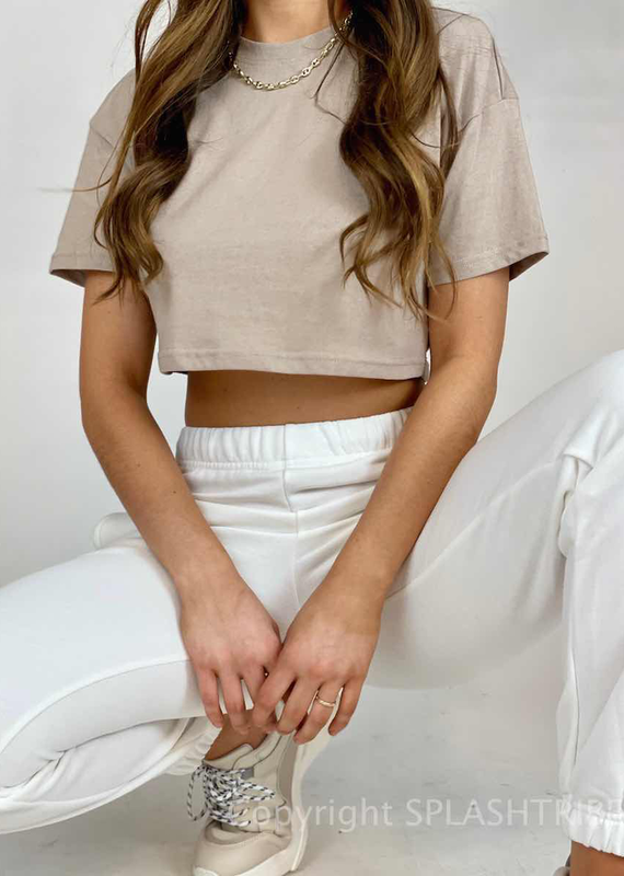 Cropped Tee - P-151443