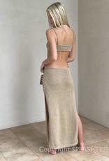 Paige Knit Cut Out Maxi Dress