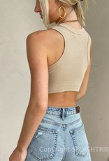 Cropped Essential Tank Top