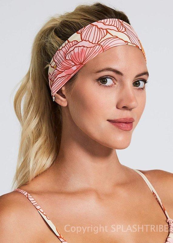 Devon Windsor Headscarf Floral Sunset