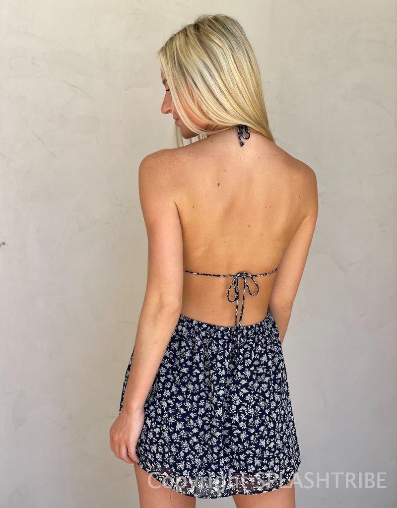 Leah Cut Out Mini Dress