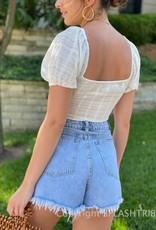 Margot Double Tie Front Crop Top
