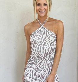 Call of the Wild Mesh Mini Dress