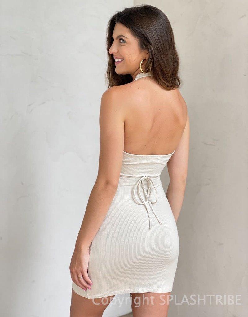 Jessie Halter Cut Out Mini Dress